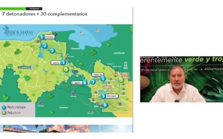 """""""Se prevé el desarrollo de siete puntos en Tabasco"""": José Antonio Nieves, secretario de Turismo"""