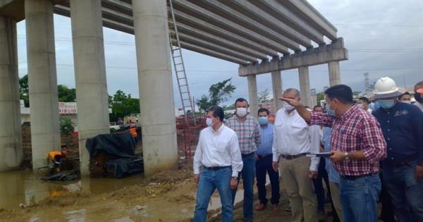 Iniciarán trabajos de edificación de la cuarta etapa del distribuidor vial de Av. Universidad
