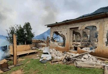 Católicos indígenas queman casas de evangélicos en San Cristóbal