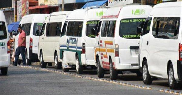 Modifican rutas de transporte en Villahermosa