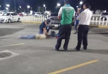 Sujeto muere saliendo del aeropuerto de Villahermosa