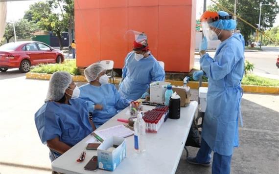 Aumenta atención en módulos de pruebas COVID-19; llama Salud a ser responsables para frenar contagios