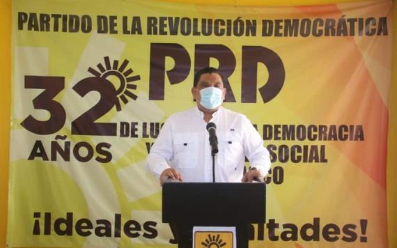 Fue una elección amañada: Dirigente estatal del PRD