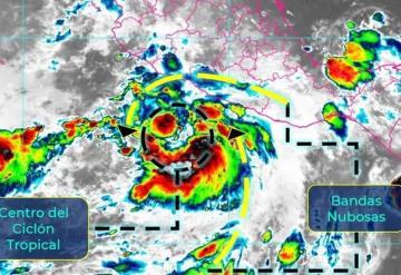 Se forma la tormenta tropical Enrique en el Océano Pacífico