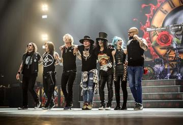Guns N´ Roses regresa a México; anuncia tres conciertos