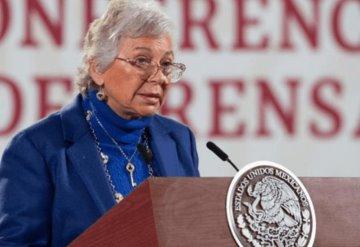 Descarta Olga Sánchez Cordero buscar candidatura presidencial