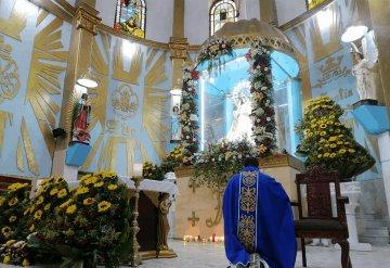 Celebran a la Virgen del Carmen en Chiltepec, Paraíso