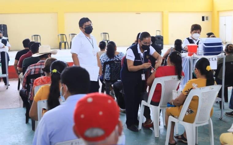 Reinicia próximo lunes vacunación anticovid en cinco municipios