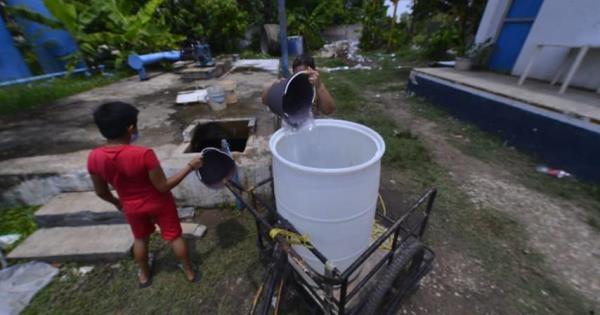 20 mil afectados por desabasto de agua en Villahermosa
