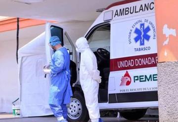 Aumentan pacientes hospitalizados por covid-19 en Tabasco