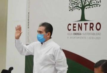 Reaparece el alcalde del municipio de centro, Evaristo Hernández Cruz