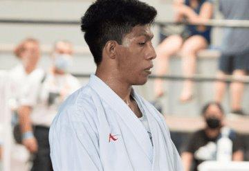 El karateka tabasqueño Isaac López, representará a México a nivel internacional