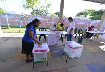 Contundente fue el voto por el sí: conteo preliminar del INE