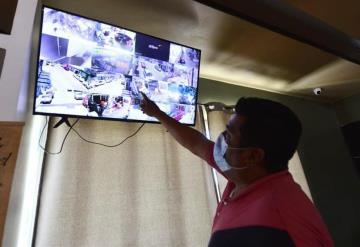 Con cámaras de seguridad y diferentes puntos de monitoreo refuerzan seguridad en El Águila