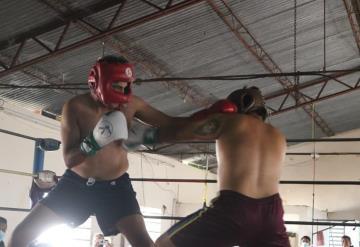 Boxeadores de Villahermosa, Emiliano Zapata y Balancán sostuvieron un tope de preparación interesante