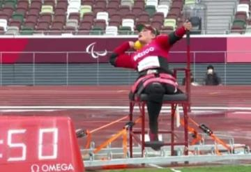 Ángeles Ortiz culminó cuarto lugar en Tokio 2020