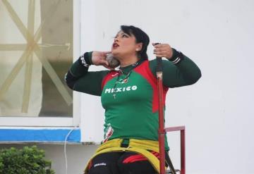 Ángeles Ortiz hará lo posible por recobrar la cima en impulso de bala en 2022