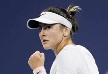 La tenista Bianca Andreescu vuelve a los octavos de final