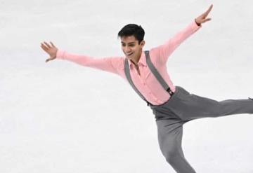El patinador Donovan Carrillo se prepara para los Juegos Olímpicos de Invierno en Pekín 2022