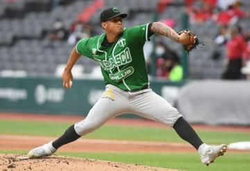 El campeón de efectividad Luis Escobar de Olmecas de Tabasco es de interés del beisbol japonés