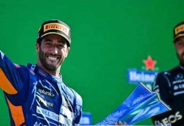 Daniel Ricciardo se lleva la victoria en el GP de Italia
