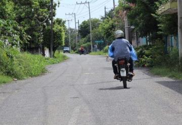Concluida otra obra de pavimentación en comunidad reyes  Hernández 2ª de Comalcalco