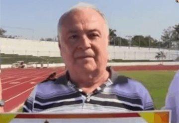 Falleció Ernesto Espinoza  emblemático impulsor del atletismo tabasqueño