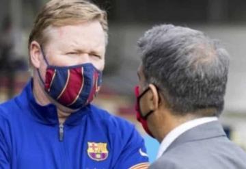 La junta directiva del Barcelona habría pedido el despido de Koeman