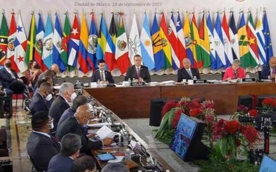 El presidente Andrés Manuel López Obrador inició esta mañana la VI Cumbre de la Comunidad de Estados Latinoamericanos y Caribeños
