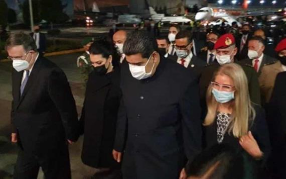VIDEO: El presidente de Venezuela, Nicolás Maduro, llegó a México para participar en la sexta reunión de la CELAC