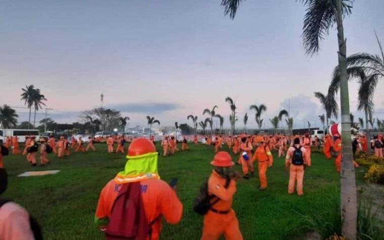 Hay tres detenidos por enfrentamiento en refinería de Dos Bocas: Rocío Nahle