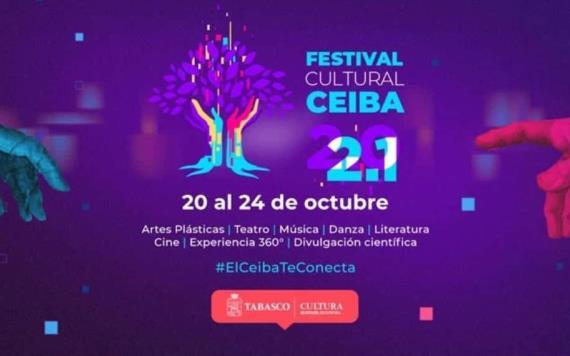 Inicia el Festival Ceiba en modalidad virtual