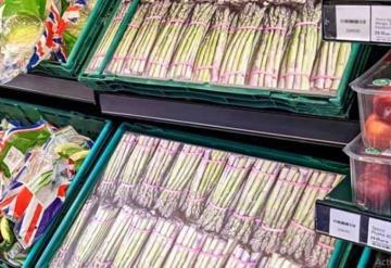 Supermercados en Reino Unido usan fotografías ante escasez de comestibles